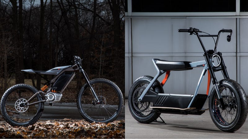 Illustration for article titled Harley-Davidson Sees 'Opportunity' in E-Scooters and E-Bicycles