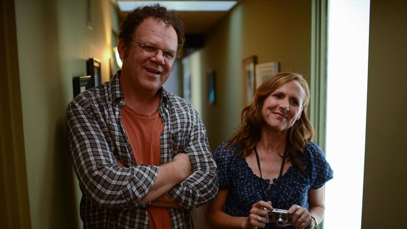 Shannon with John C. Reilly in Life After Beth