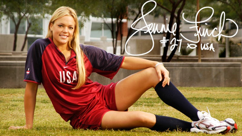 Illustration for article titled Jennie Finch Has Named Her Second Son Diesel Daigle
