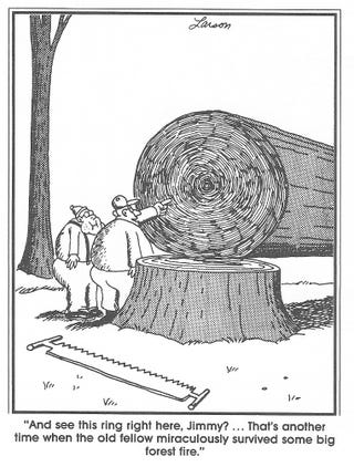 Illustration for article titled Far Side Friday - Ramblin' is letting us down