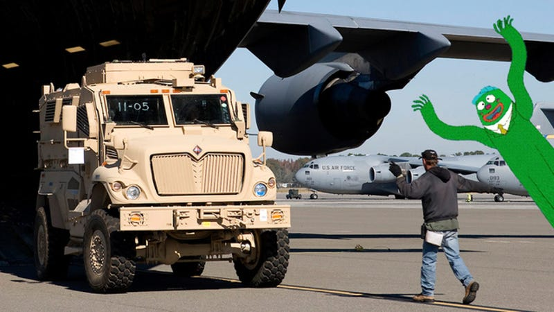 Illustration for article titled The Pentagon Is Throwing A Free Army Truck Giveaway!