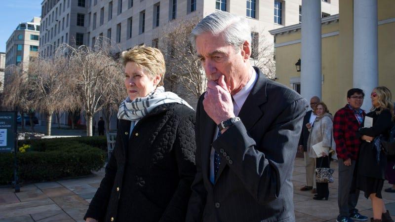 Robert Mueller (r) and wife Ann.