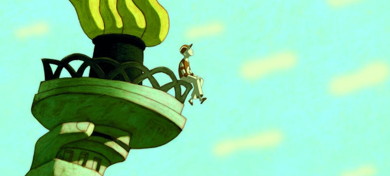 Illustration for article titled A Young Spirit Fights New York City's Crime in the New Animated Film Phantom Boy
