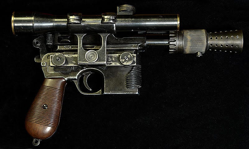 This May Be the Most Accurate Han Solo Blaster Replica Ever Created