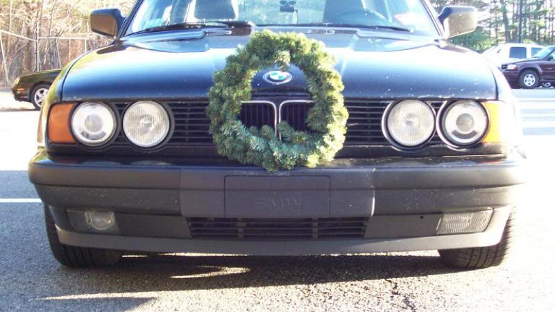 Christmas Car Decorations.When Festiveness Goes Too Far A Guide To Tastelessly