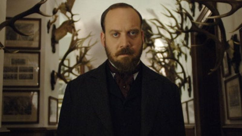 Illustration for article titled Paul Giamatti joins the cast of Downton Abbey