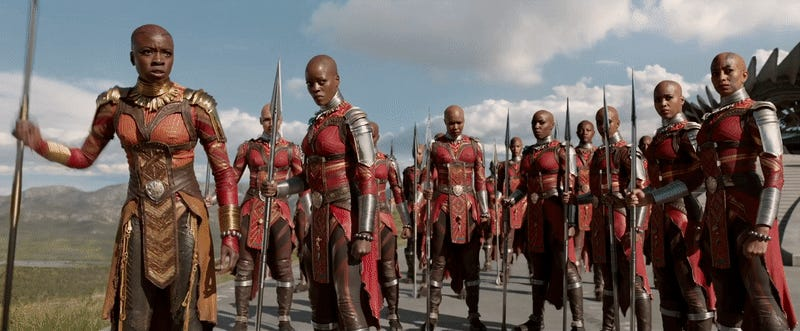 Image result for black panther dora milaje