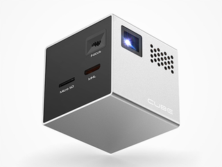 Illustration for article titled Save $50 On The Cube Pico Projector (Free Shipping)