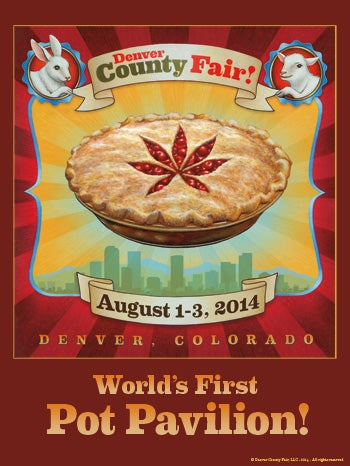 Illustration for article titled Denver County Fair Pot Pavilion Had a Hitch