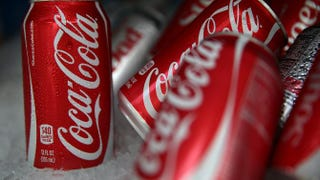 Cans of Coca-Cola Justin Sullivan/Getty Images