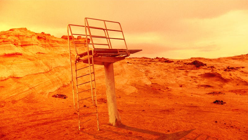 Illustration for article titled NASA Says Presence Of Diving Board On Mars Confirms Planet May Have Once Contained Water