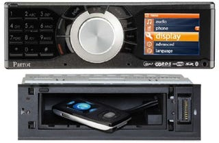 Illustration for article titled Parrot RK8200 Bluetooth Car Stereo Ditches the CD