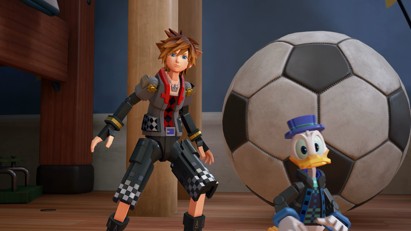 Illustration for article titled Breaking Down The Meta As Hell Opening To Kingdom Hearts III's Toy Story World