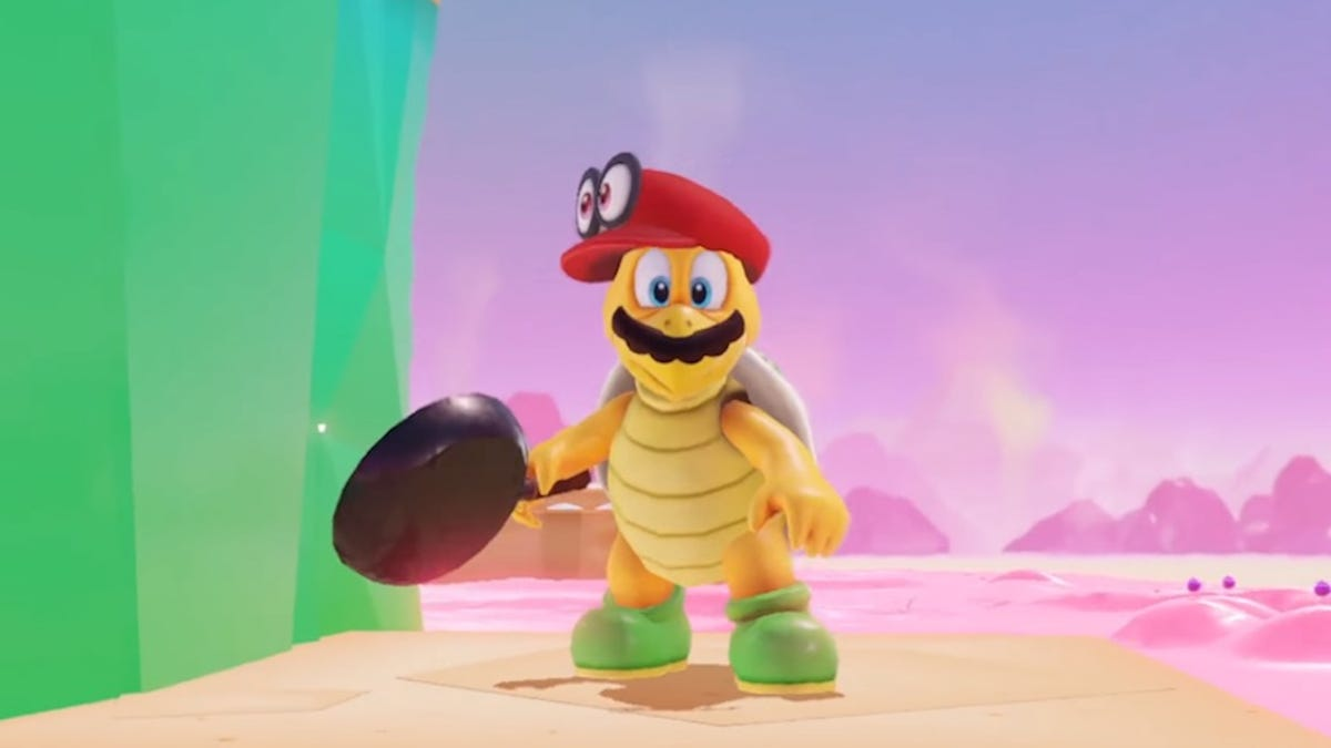 Every Super Mario Odyssey Transformation, Ranked