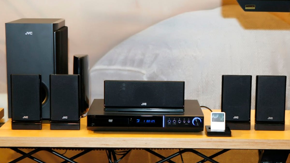 JVC's TH-G51 Home Theater in a Box Has Wireless Surround Speakers For $430