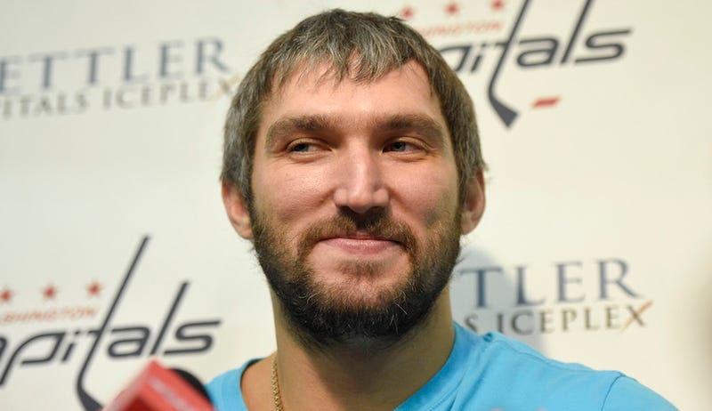 Illustration for article titled Alex Ovechkin's Birthday Gift Was A Ship–No, Wait, A Sheep