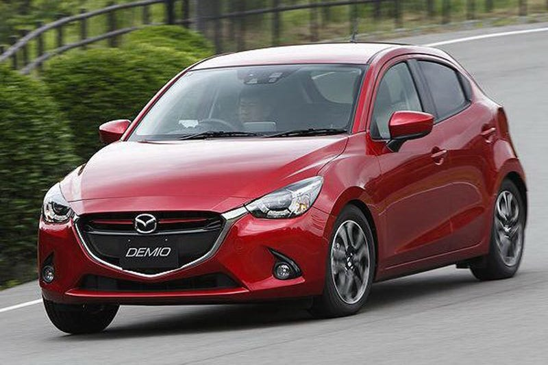 Illustration for article titled 2015 Mazda2: This Is It