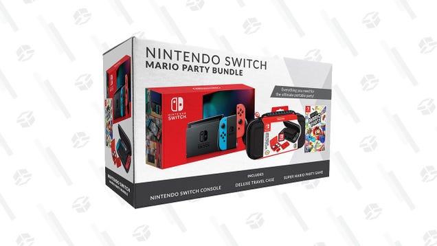 Grab This Mario Party Nintendo Switch Bundle At Kohl s