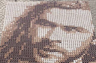 Illustration for article titled Here's Thor Made Out of Coffee Cups. Because Coffee. And Australia.