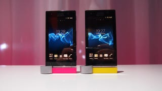Illustration for article titled Sony's Xperia P and U Are the Budget Little Brothers to That Gorgeous Xperia S