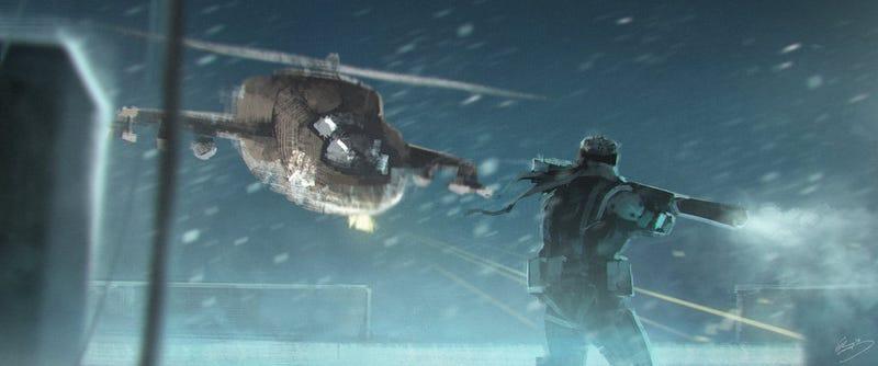 Illustration for article titled Los mejores momentos de Metal Gear Solid recreados en geniales pinturas