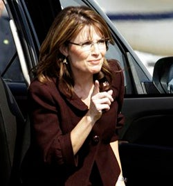 Illustration for article titled Sarah Palin Is Annoyed, And We Don't Care