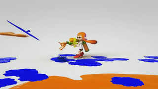 Nintendo's making a new 8-player multiplayer shooter called Splatoon for the Wii U.