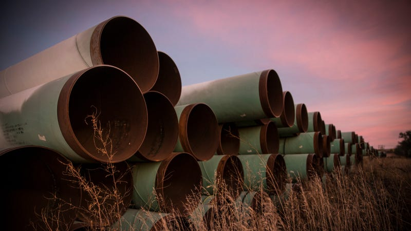 Developer TransCanada has had these pipes ready since at least 2014.