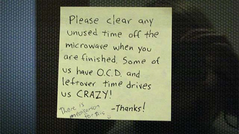 Clean Your Leftover Time After Using Microwave Thanks