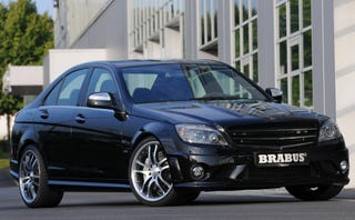 Illustration for article titled Brabus B63 S Package Takes Mercedes C63 AMG To 530 HP