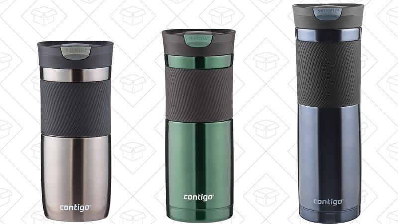 Contigo SnapSeal Byron Travel Mugs, $7-$9