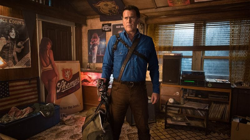 Bruce Campbell (Photo: Starz)