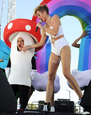 Illustration for article titled Breaking News: Miley Appointed as US Ambassador to Mushroom People