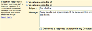 Illustration for article titled How to set up a smart Out-of-Office autoreply with Gmail