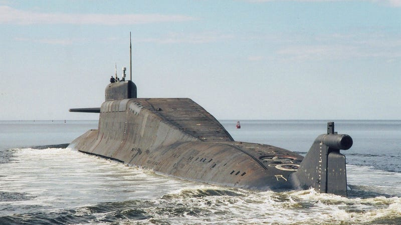 Russia Is Going Fishing For A Lost Nuclear Powered Missile
