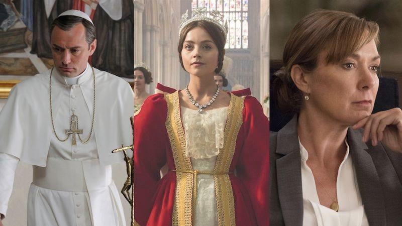 Jude Law, Jenna Coleman, Elizabeth Marvel (Images: HBO, PBS, Showtime)