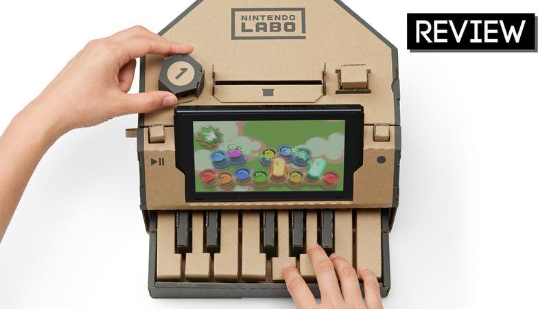 Illustration for article titled Nintendo Labo: The Kotaku Review