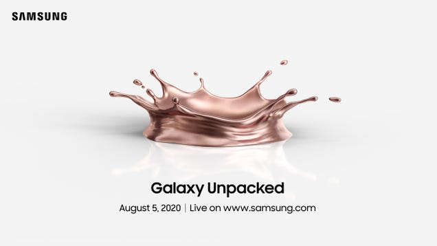 Samsung s Next Galaxy Unpacked Event is Aug. 5, and We re Excited to See Whatever This Copper Thing Is