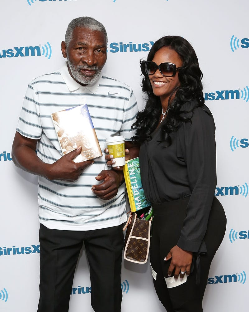 Richard Williams and then-girlfriend Lakeisha Graham in New York City on May 6, 2014  Taylor Hill/Getty Images