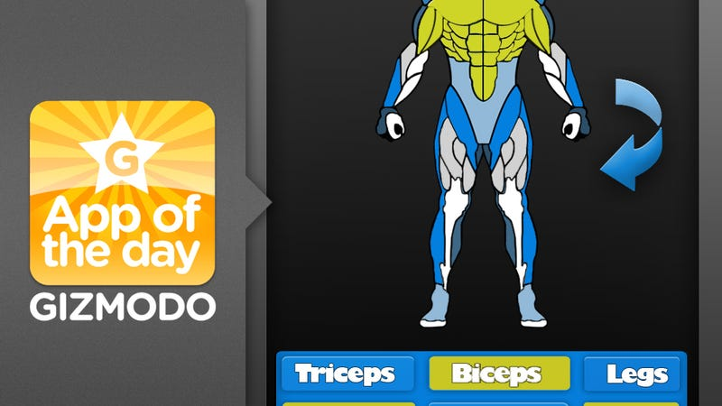 Illustration for article titled Gym Genie for iPhone and Android: Time to Get in Shape Fatboy