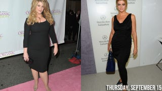 Illustration for article titled Slimmed-Down Kirstie Alley Is Anti-Plastic Surgery