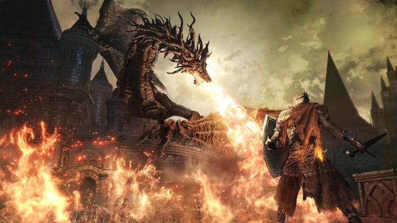 Illustration for article titled Dark Souls 3's E3 Demo Was Kinda Dull. That's Fine, Right?