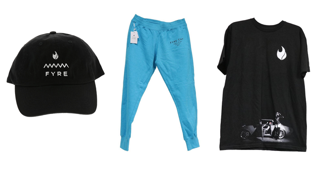 Seized Fyre Fest Merch Is Going Up for Auction
