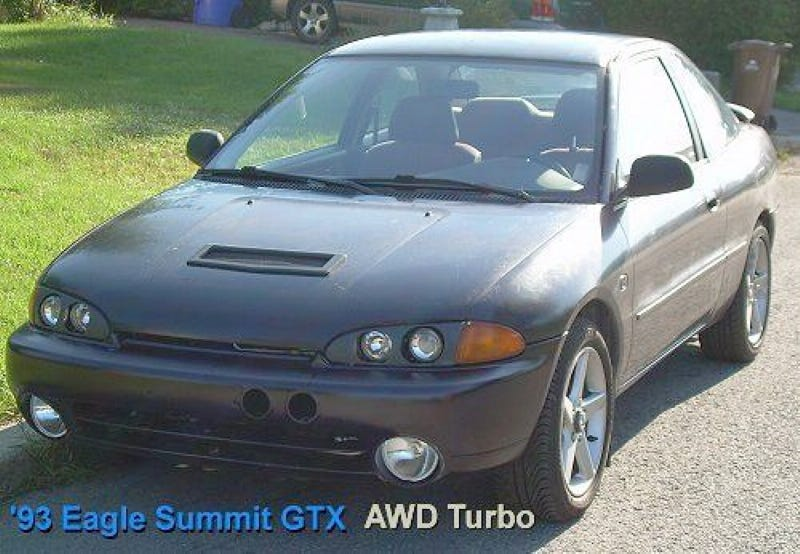Illustration for article titled For $4,995, This AWD 1993 Eagle Summit Might Just Top Your List