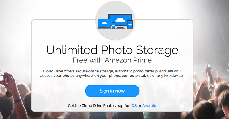Illustration for article titled Amazon Prime Gets Even Better With Unlimited Online Photo Storage