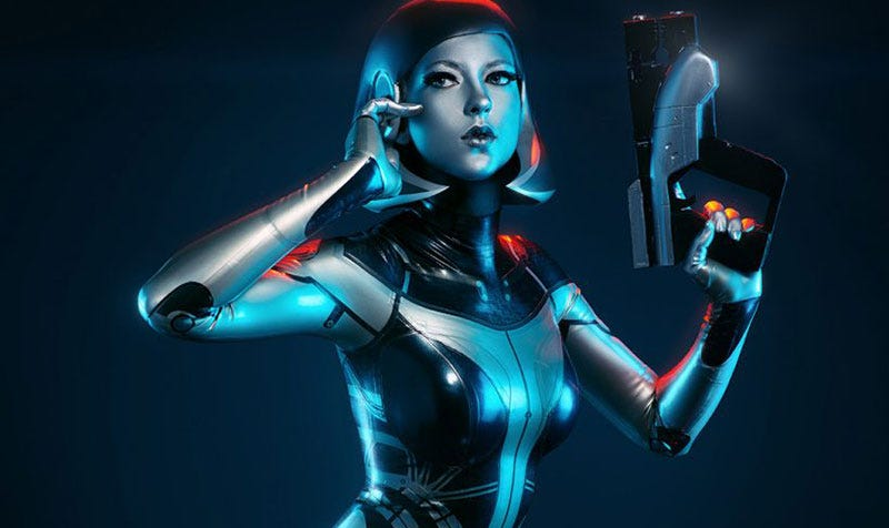 Illustration for article titled Mass Effect Cosplay Is Almost Perfect