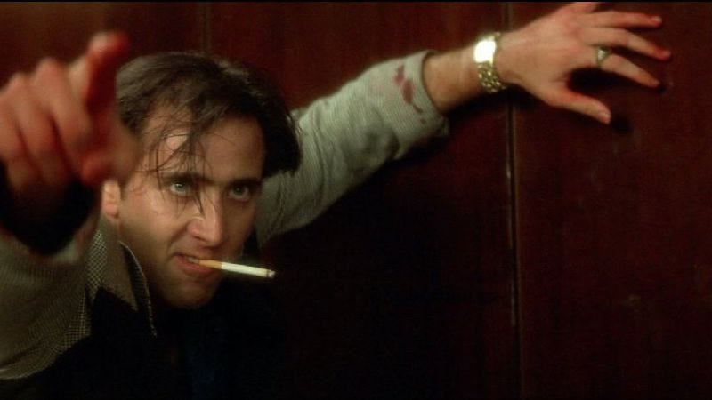 Illustration for article titled Nicolas Cage will next lose his shit on a New York taxi cab