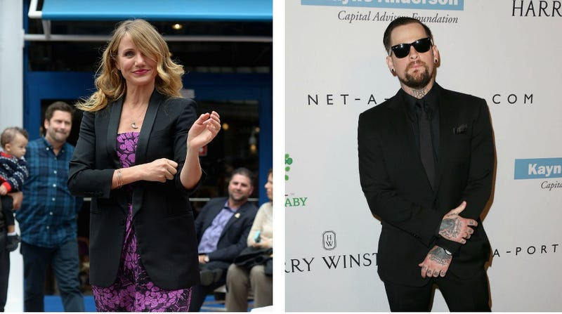 Illustration for article titled Cameron Diaz and Benji Madden Are Getting Married Right Now, Probably