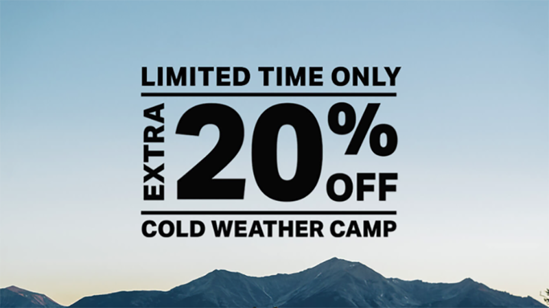 Extra 20% Off Select Camping Gear | Backcountry