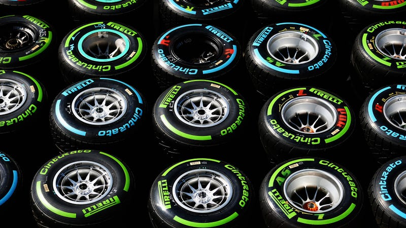 Illustration for article titled Can You Guess How Many Tires Formula One Uses In A Season?